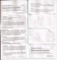 Methandienone Tablets genesis инструкция (вкладыш)
