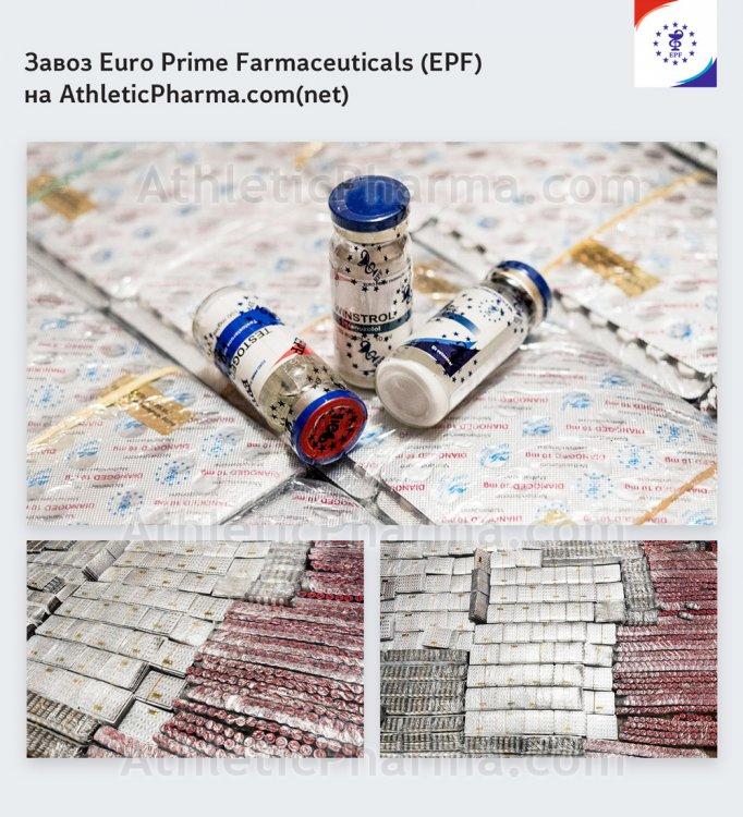 Продукция компании-производителя EPF (Euro Prime Farmaceuticals)