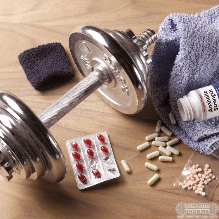 Гора стероидов (3 препарата на фото)