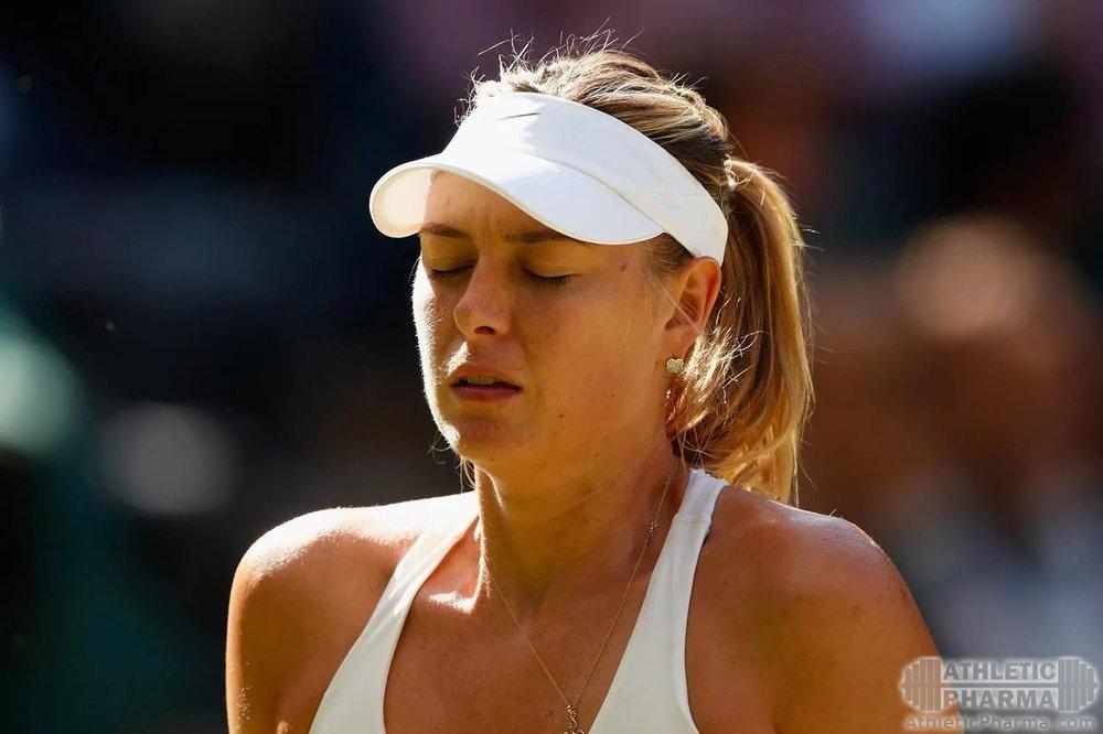 Грустная после поражения Мария Шарапова