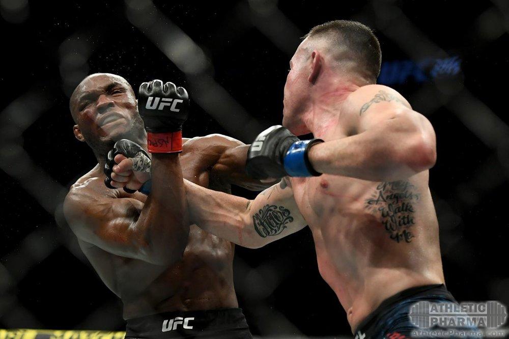 Бой Ковингтона и Усмана (титульный бой UFC)