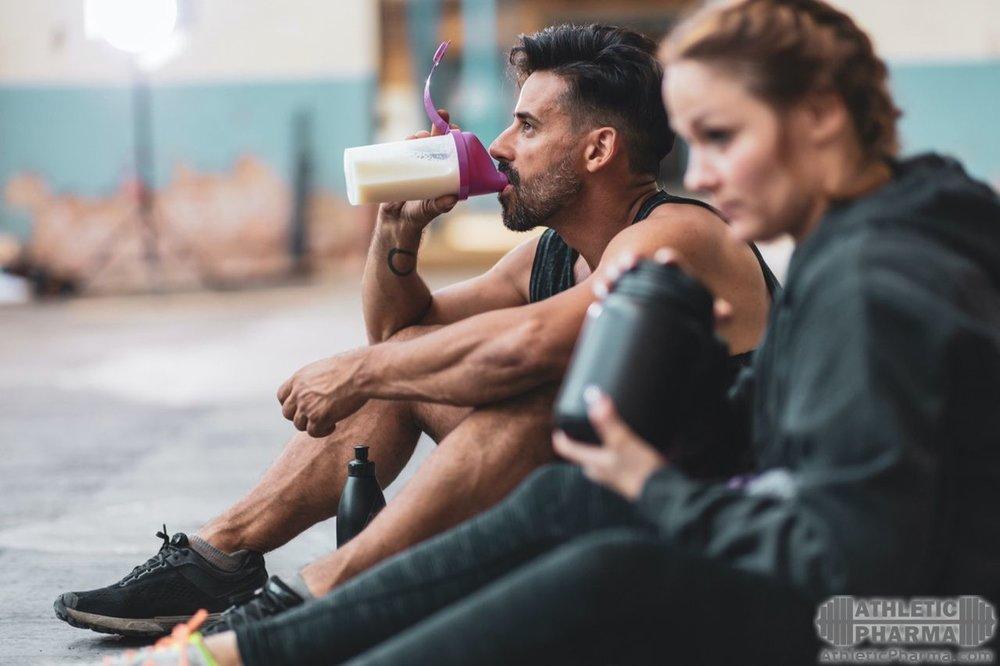 Прием спортивного питания