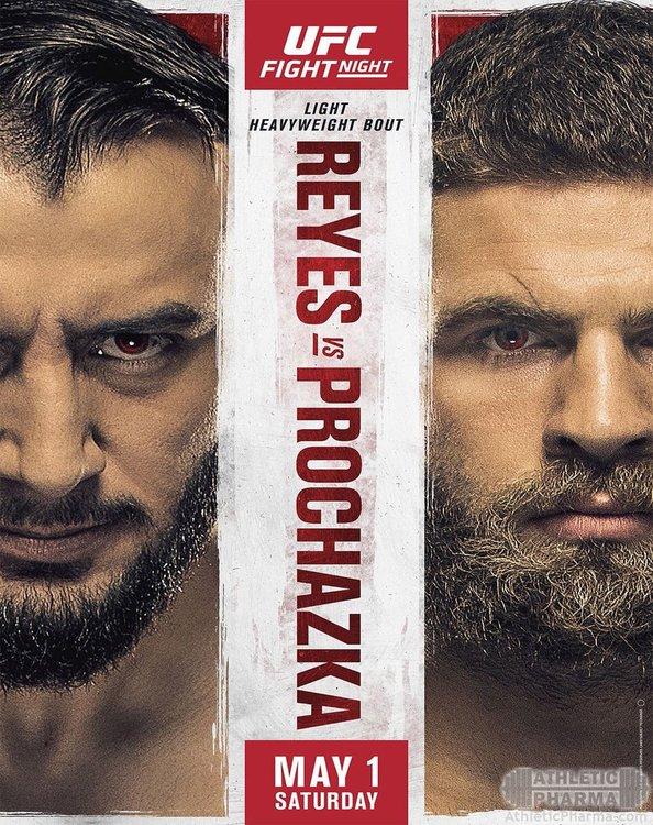 Афиша турнира UFC на EPSN 23