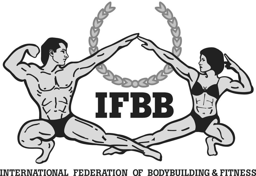 Официальный логотип IFBB (бодибилдинг и фитнес)