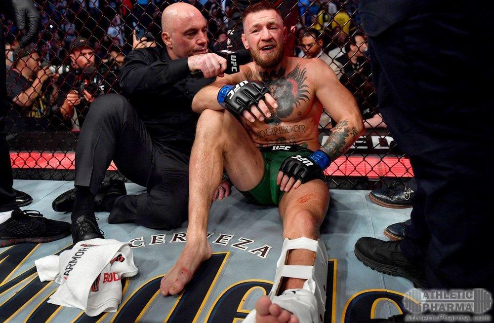 МакГрегор после поражения от Порье на UFC 264