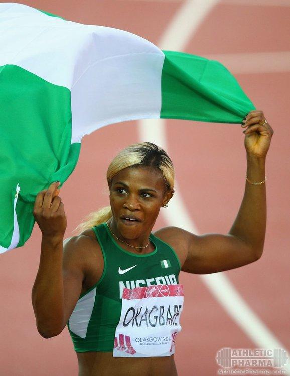 Блессинг Окагбаре, легкоатлетка из Нигерии