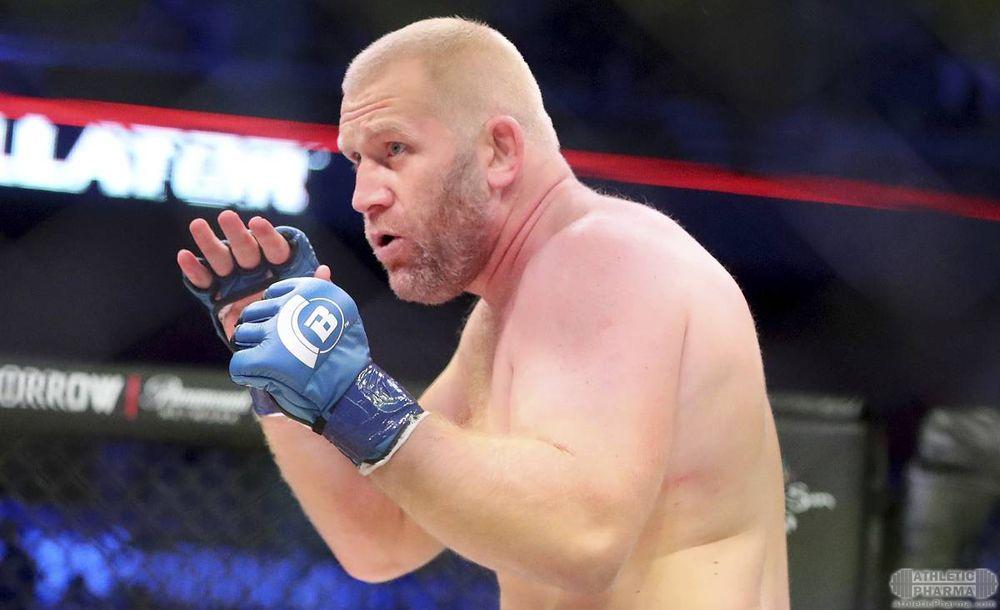 Сергей Харитонов, российский боец Bellator
