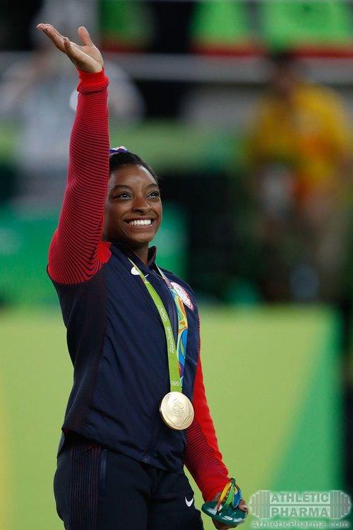 Симона Байлз, гимнастка из США